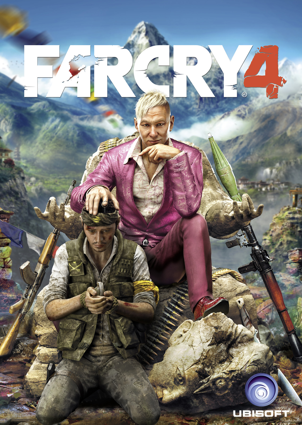 Far cry 4 jaquette