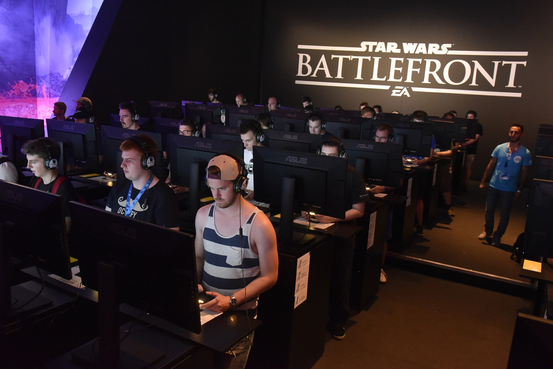 Gamescom 2015 electronic arts