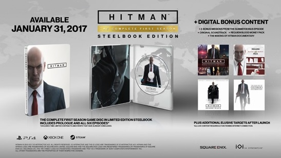 Hitman steelbook edition