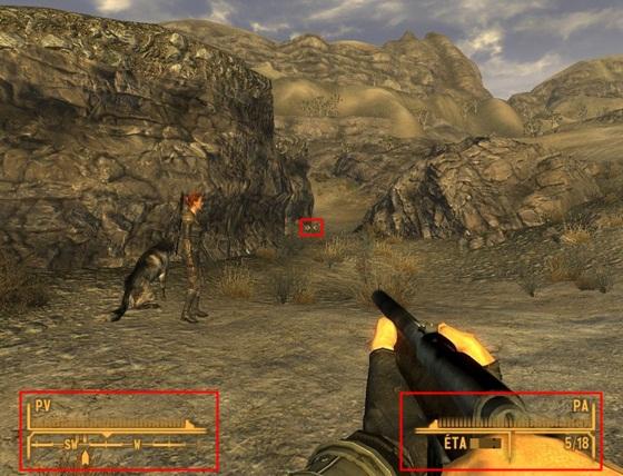 HUD Fallout: New Vegas