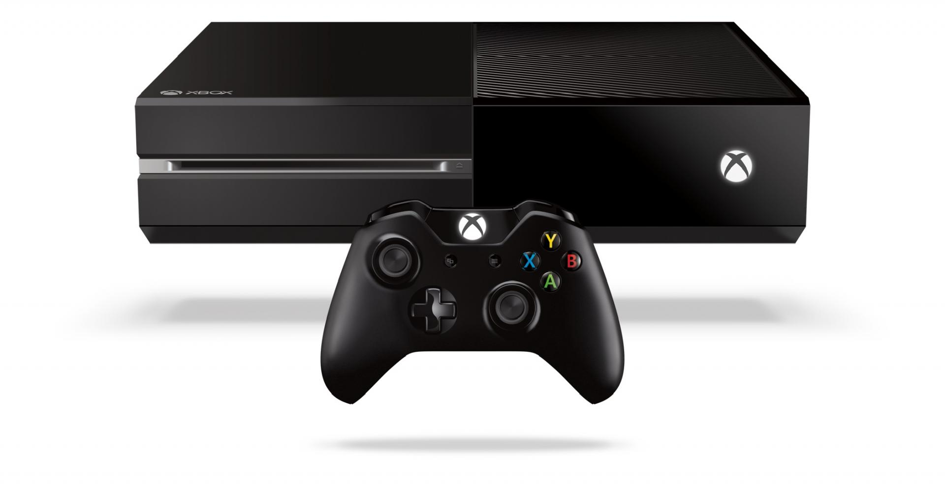 Xbox one console and controller